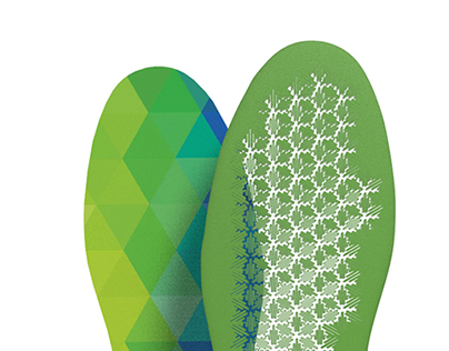 InPrint / 3D Printed Custom Insole
