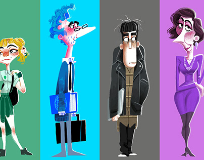 Character Design - Visualising Characters for a Play