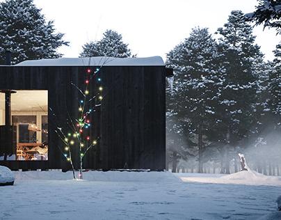 Black Cabin - Christmas 2020