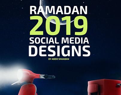 Ramadan 2019 Social media designs