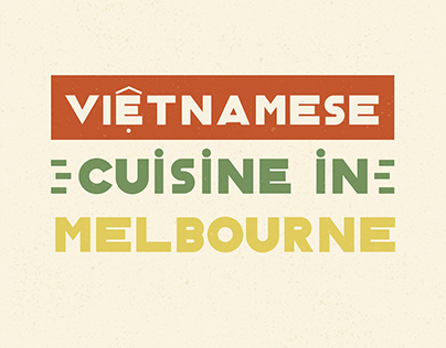 Vietnamese cuisine in Melbourne