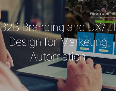 B2B Branding & UX/UI Design for Marketing Automation