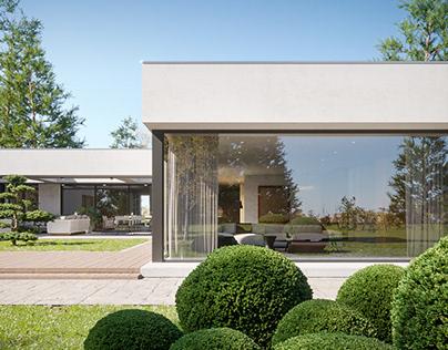 Render - Infinity villa