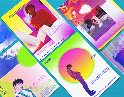 NCT 127 'Punch': Fanmade Postcard Series