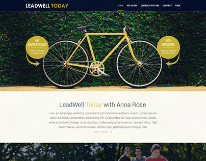 Website design for Leadwell Today