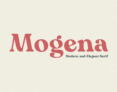 Mogena- Modern and Elegant Serif Font