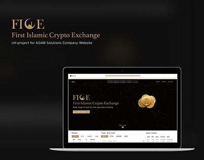 FICE – Crypto Exchange UX Project
