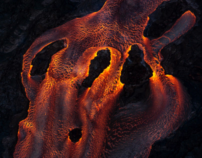 Helicopter Tour Over the Puna Eruption