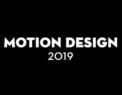 Motion design 2019