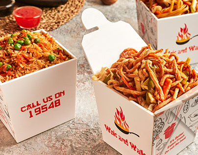 Wok n Walk - Food Commercial Photography