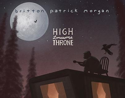 "Album Artwork ""High Lonesome Throne"""