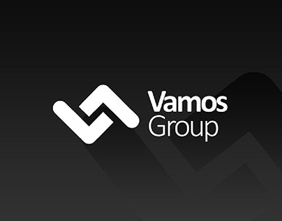 Vamos Group betting company logo and Corporate Identity
