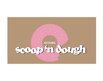 visual identity redesign, vegan doughnut shop