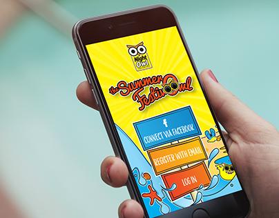 Summer FestivOwl Spin 'n' Win App