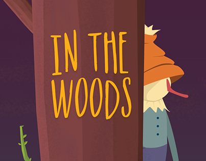 IN THE WOODS   game art design