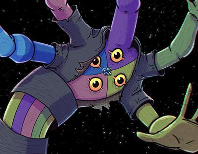The Cluster Gems - Steven Universe Collab - fanart