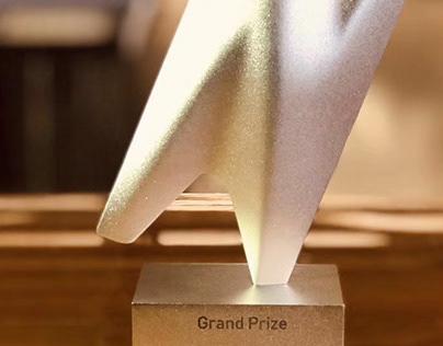 2019 CAFA+K 'Art+Hyundai Motors Award Trophy Design