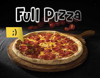 Identity & Ads. Full Pizza
