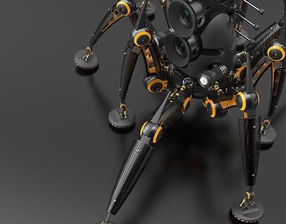 KeyShot Webinar - Robotic Crawler II