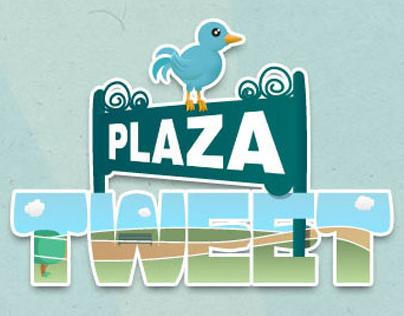 Illustration & Web Design for Plaza Tweet