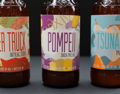 Toppling Goliath Beer Rebrand