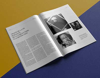 « Le dandysme et l'affirmation de soi » - magazine