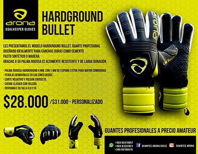 Diseño de infografias para guantes ARONA CHILE