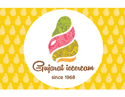 Gujarat Ice cream branding and packaging