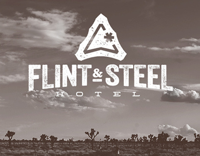Flint & Steel Hotel Branding