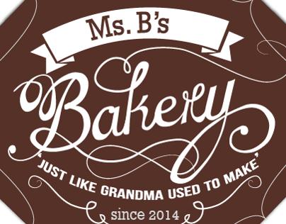 Ms. B's Bakery Identity