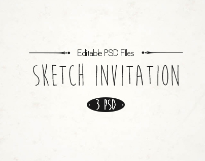 Sketch Invitation