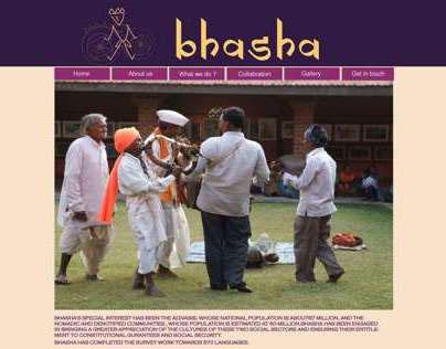 Bhasha: website