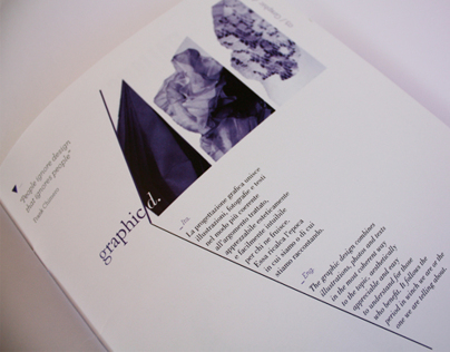 Editorial project Portfolio