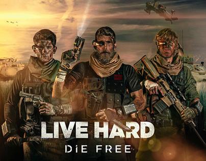 Live Hard Die Free