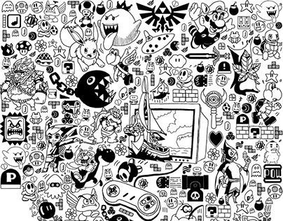 Tatoo doodle Nintendo