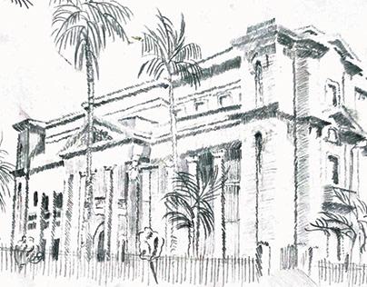 Manual sketching and rendering drawings