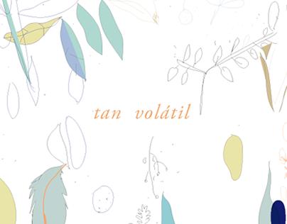 illustration · tan volátil