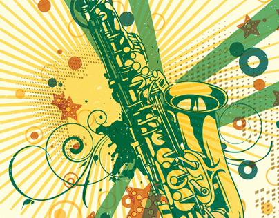 Summer 2014 CSU Saxophest Postcard