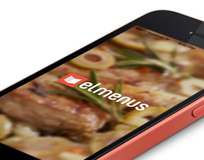 Elmenus iOS App