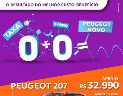 Peugeot - O resultado do melhor custo-benefício