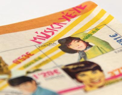 Stamp Collection.Yé-Yé music.