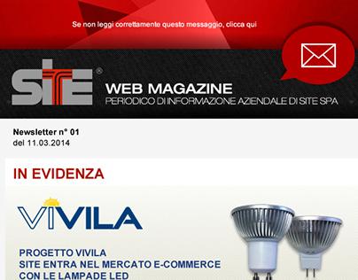 Site newsletter