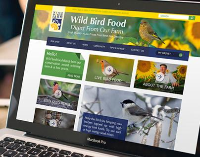 Responsive Website Design for Vine House Farm