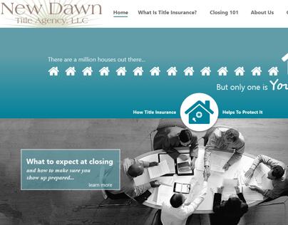 New Dawn Title Agency Website