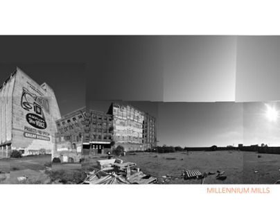 millennium mills,  before industrial now after