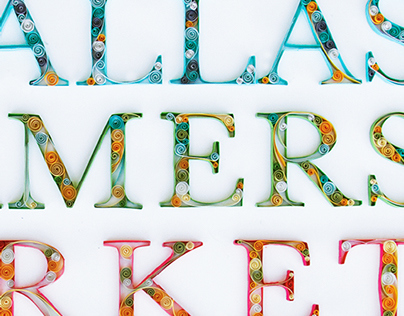Dallas Farmers Market Poster