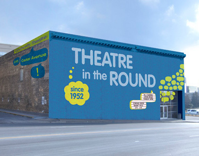 Theatre in the Round Branding