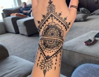 Tattoo Art w/pen