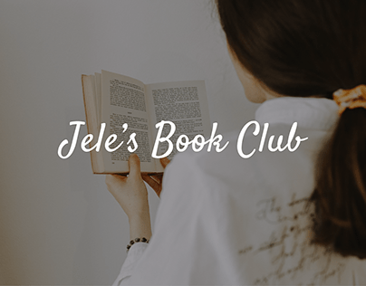 Jele's Book Club - Landing page