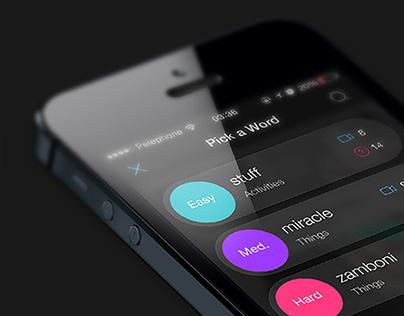 MimeFeed. Game App